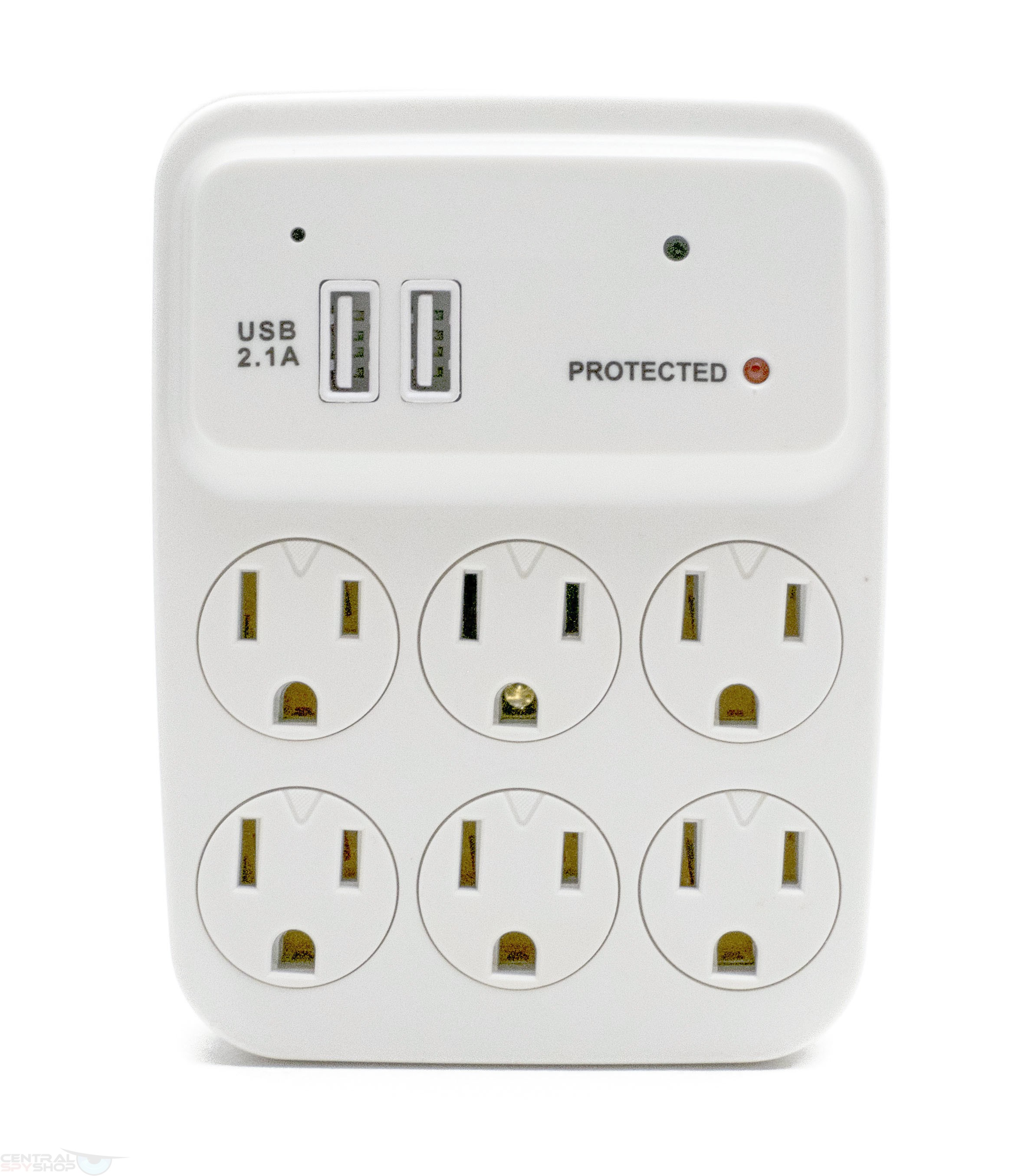 Central Spy Shop Houston Hidden Wall Outlet Adapter