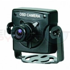 High-Resolution Mini Color Camera - Small (Black)