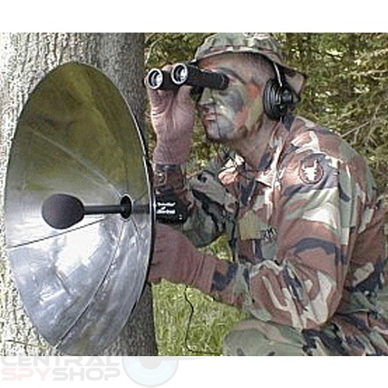 Central Spy Shop Houston Detect Ear Parabolic Microphone