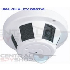 Covert Smoke Detector Camera - Wired 680TVL High Quality