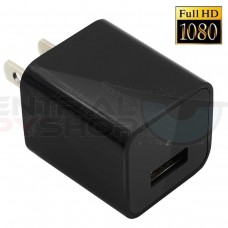 HD 1080P - 32GB Covered Lens AC Plug Charger DVR Adapter Spy Hidden Camera Video