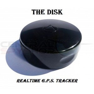 The DISK - Real-Time 4G GPS Tracker w/ Magnet