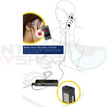 Universal Cell Phone Recording Microphone