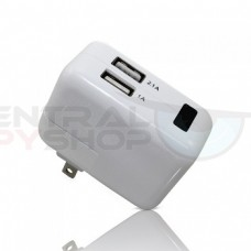 Dual Port USB Mac / Apple Charger & Covert Camera WiFi