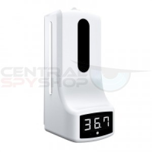 Touchless Thermometer with Hand Sanitizer station