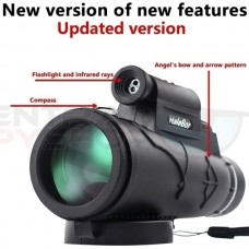 Extra Long 9800M/300000M Compass Flashlight and Laser - Angle Monocular