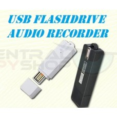 Covert USB Audio Recorder with 25 Day Standby - Voice Activated