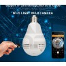 Wifi Panoramic Light Bulb Camera - HD Authentic Original Version