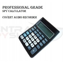 Professional Grade - Spy Calculator Covert Audio Recorder