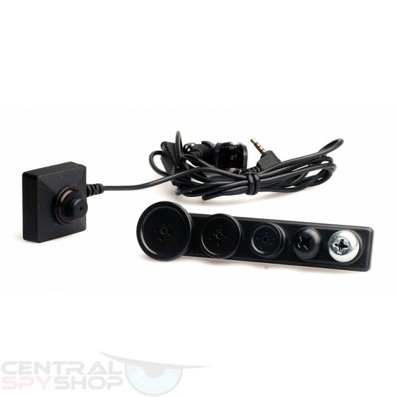 Lawmate - BU-18 Color High Res Button Camera 720p C0122