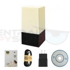 Color Changing Lamp - Covert camera w/ Wi-Fi & Nightshot