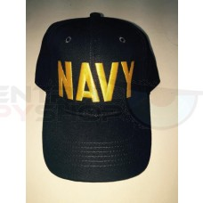 Navy - Yellow Deluxe Hat