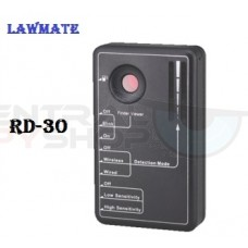 Lawmate - NEW RD-30 Hidden Camera / RF Detector and Audio Recorder Detector