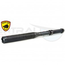 Guard Dog Titan - Metal Baton + 260 Lumen Tactical Flashlight +