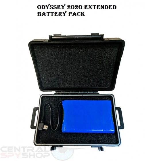 ODYSSEY 2020 - Realtime GPS Tracker with Extended Battery Pack Kit
