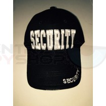 SECURITY  - Deluxe Hat - White Letters