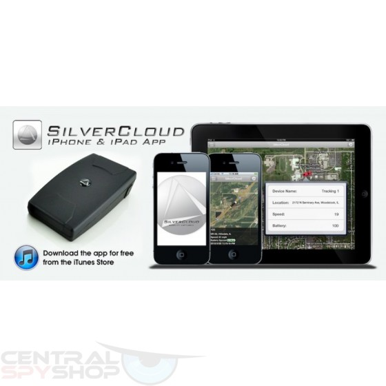 SilverCloud® Overdrive Live GPS Tracker - 60 hour battery w/ Magnet