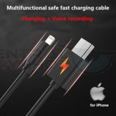 I-Phone - Audio Recorder in Charging Cable