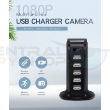 5 Port USB Splitter Tower Covert Camera w/ WIFI