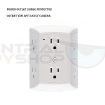 Power Outlet Surge Protector Covert Wifi Spy Nanny Hidden Camera