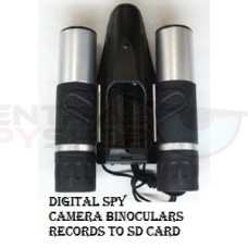 10x25 Digital Spy Camera Binoculars w/ Recording to SD Card