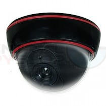Dummy Dome Camera with Blinking Red LED