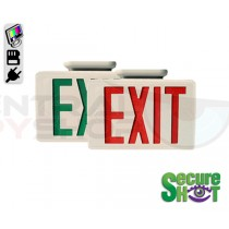 SecureShot Covert Camera Recorder Exit Sign