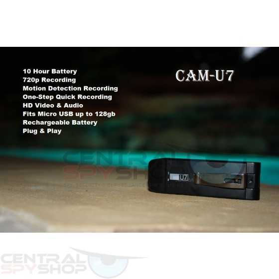 CAM-U7 USB Digital Spy Hidden HD Motion Activated Video & Voice Recorder Camera