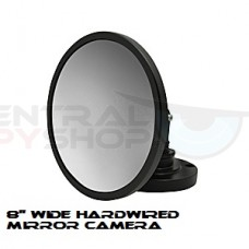 8'' wide Hardwired Mirror Camera - 540tvl