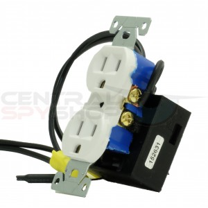 Electrical Outlet Receptacle Camera - Wifi Enabled w/ 1080p