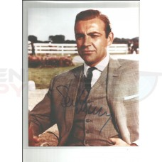 Sean Connery, Hand signed Original Autograph - Color Photo in MINT Condition