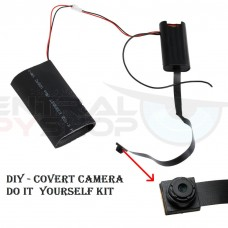 DIY - Do it  yourself SPY CAMERA Kit - 1080p