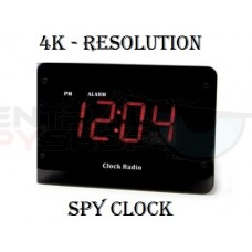 Zone Shield 4K Night Vision Clock Radio DVR - SC80004K