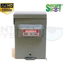SecureShot Covert Camera Recorder Outdoor Electrical Box (Night Vision System)