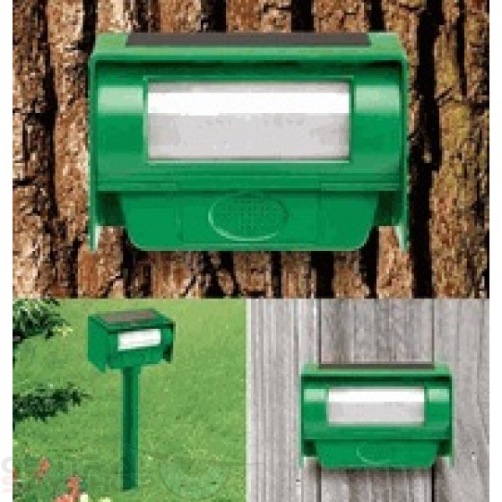 Solar Powered Insect Repeller Spy Camera