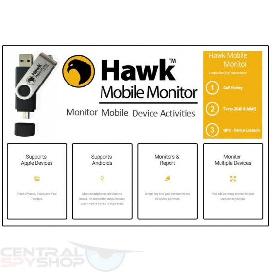 Hawk - Mobile Monitor for Smartphones