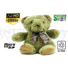 NEW! SecureShot Full High Definition 1080P Teddy Bear Camera/DVR-128GB SD Card Support