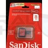 8gb sd card with Adapter