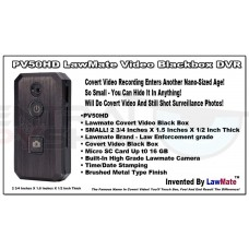 PV-50HD Lawmate Video Blackbox DVR w/ Camera