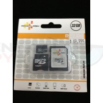32 GB micro SD Card with Adapter