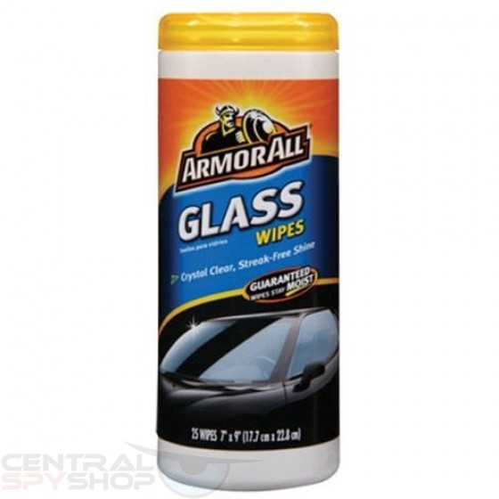Armor All Glass Wipes -- DIVERSION SAFE