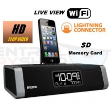 SecureShot HD-Live View-High Definition Ipod Dock (iphone 5) SD DVR with WiFi Live Viewing from PC, Iphone or android.