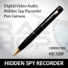 High Performance Spy Pen Voice Camcorder HD Video (1280x720) Professional Grade