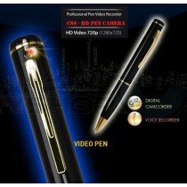 CSS High Performance Spy Pen Voice Camcorder HD Video (1280x720) Professional Grade