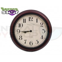 SecureShot Covert Camera Recorder Wall Clock (Color System)