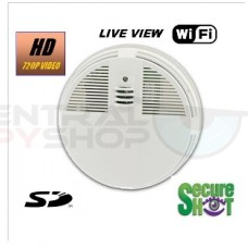 Secure'Shot HD Live View High Definition Smoke Detector With WiFi Live View and IR NightVision