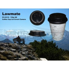Lawmate - PV-CC10 Coffee Cup Lid Covert Video Camera DVR 720p