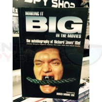 """MAKING IT BIG IN THE MOVIES"" SIGNED BY RICHARD 'JAWS' KIEL JAMES BOND"