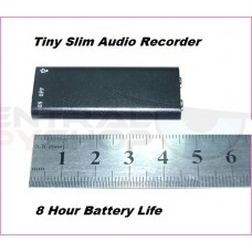 Super Tiny Voice Recorder - 8GB / 8 Hour Battery Life & Mp3 player