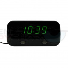 Alarm Clock Spy Camera - w/ WiFi Viewing Totally Covert